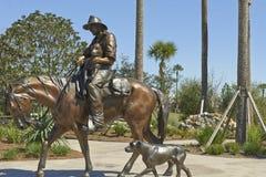 Art de cowboy Photographie stock libre de droits