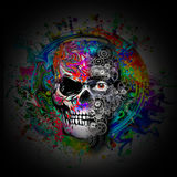 Art de crâne illustration libre de droits