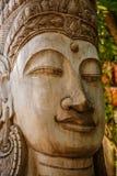 Art de découpage en bois du Cambodge Photographie stock