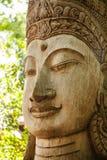 Art de découpage en bois du Cambodge Images libres de droits