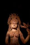 Art de découpage en bois du Cambodge Image stock