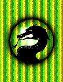Art de Dragon Background Design Graphic Vector illustration libre de droits