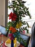 Art de fleur d'origami Photos stock