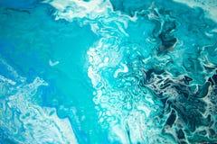 Art de fluide de profondeur de mer d'abstraction photographie stock