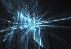 Art de fractale - image d'ordinateur, fond technologique Photos libres de droits