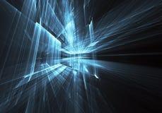 Art de fractale - image d'ordinateur, fond technologique Image stock