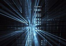 Art de fractale - image d'ordinateur, fond technologique Images libres de droits