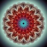 Art de fractale de style de Julia de mandala Photographie stock libre de droits