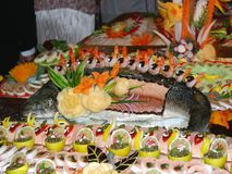 Art de fruits de mer Photos libres de droits