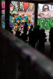 Art de graffiti à Londres Image libre de droits