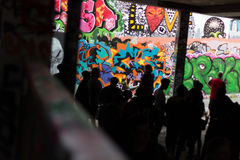 Art de graffiti à Londres Photo libre de droits