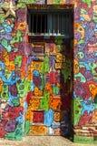Art de graffiti à valparaiso, Chili photos libres de droits