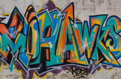 Art de graffiti photographie stock libre de droits