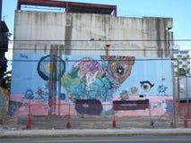 Art de graffiti, mur à San Juan, Porto Rico Image stock