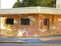 Art de graffiti, mur à San Juan, Porto Rico Images libres de droits