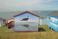 Art de hutte de plage Image libre de droits