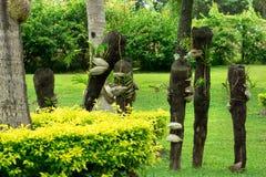 Art de jardin des Fidji Images libres de droits