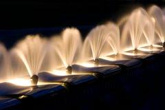 Art de l'eau Photographie stock libre de droits