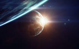 Art de la science-fiction Beauté d'espace lointain Éléments de cette image meublés par la NASA Photos libres de droits