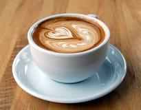 Art de Latte Photographie stock