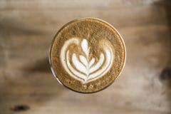 Art de latte de café Image libre de droits