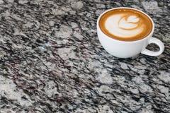 Art de latte de café photo libre de droits