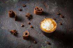 Art de latte de papillon Photo libre de droits