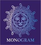 Art de Logo Vector de monogramme Photo stock