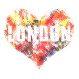 Art de Londres Style graphique Londres de rue Copie élégante de mode Habillement de calibre, carte, label, affiche emblème, timbr Illustration Libre de Droits