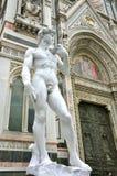 Art de Michaël Angelo dans la ville de Florence, Italie Image stock