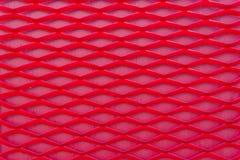 art de modèle rouge géométrique en plastique pour le fond Image libre de droits