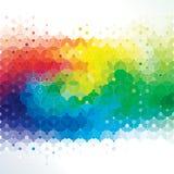 Art de molécule. illustration stock