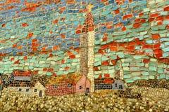 Art de mosaïque Images libres de droits