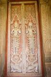 Art de porte de temple Photo libre de droits