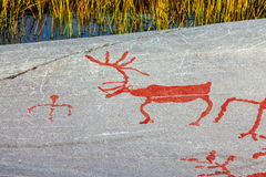 Art de roche d'Alta Photographie stock libre de droits