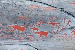 Art de roche d'Alta Photos stock