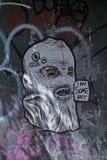 Art de rue à Berlin, Allemagne Images stock