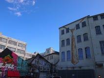 Art de rue à Birmingham, Angleterre image libre de droits
