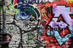 Art de rue à Paris Photos stock