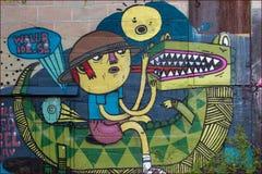 Art de rue Photographie stock libre de droits