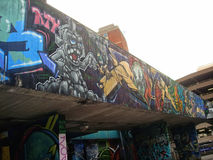 Art de rue dans Bristol Image stock