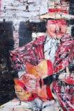 Art de rue dans des voisinages de Boca de La Images libres de droits