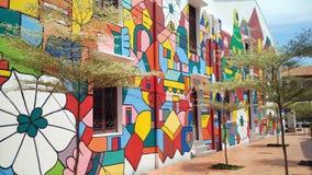 Art de rue dans Melaka Photos stock