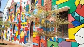 Art de rue dans Melaka Images stock