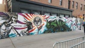 Art de rue dans Santa Ana du centre Photographie stock