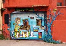 Art de rue dans ValparaÃso photos libres de droits