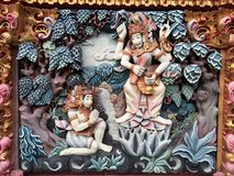 Art de rue de Bali Images stock