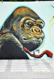 Art de rue de la Thaïlande Photographie stock