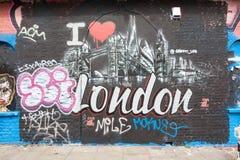 Art de rue de Londres Photo stock