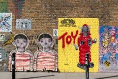 Art de rue de Londres image libre de droits